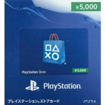 PSN 5000-YEN [JAPAN] POINT CARD