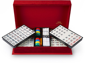 "Nintendo Japan ""Yakuman Firebird"" Mahjong Set"