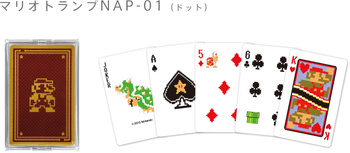 "Nintendo Japan ""Mario RETRO"" Playing Card Set (POKER CARDS) NAP-01"