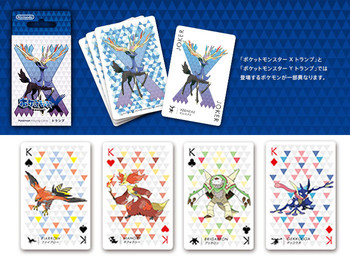 "Nintendo Japan ""Pokemon X"" Playing Card Set (POKER CARDS)"