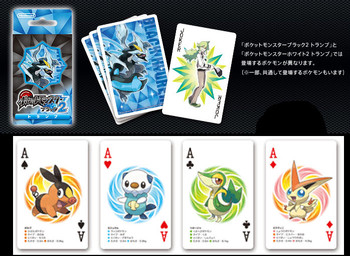 "Nintendo Japan ""Pokemon Black 2"" Playing Card Set (POKER CARDS)"