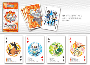 "Nintendo Japan ""Pokemon White 2"" Playing Card Set (POKER CARDS)"
