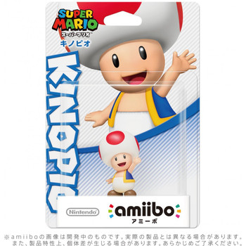 Toad - Mario Party 10 Amiibo