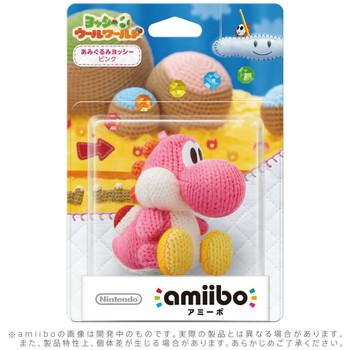 Pink Yarn Yoshi - Yoshi Woolly World Amiibo