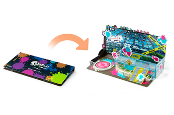 Splatoon [Mozuku Farm] Amiibo Diorama Kit