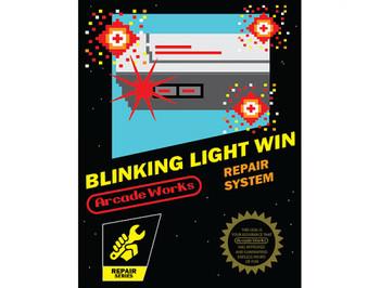 BLINKING LIGHT WIN - NEW STILE PIN CONNECTOR (BLW - NES)