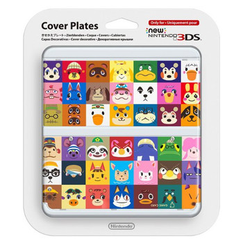 NEW NINTENDO 3DS COVER PLATES - N. 068 ANIMAL CROSSING