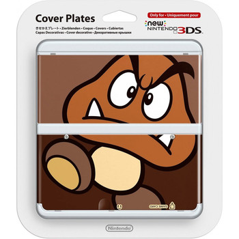 NEW NINTENDO 3DS COVER PLATES NO.051 (GOOMBA)