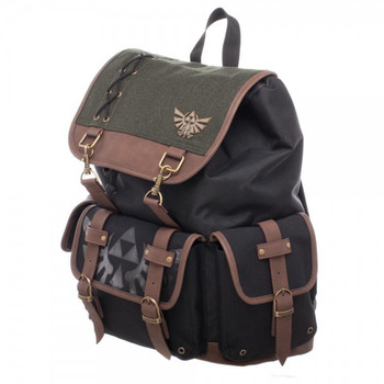 Nintendo Link Ruck Sack W/ Metal Badge and PU