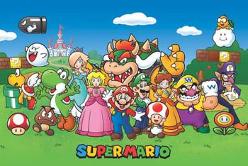 Super Mario – Animated Rolled