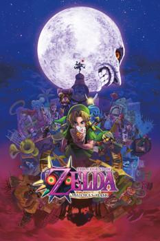Zelda – Majora's Mask Poster