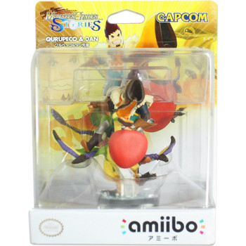 Monster Hunter Stories Capcom Amiibo Qurupeco & Dan Japan Import