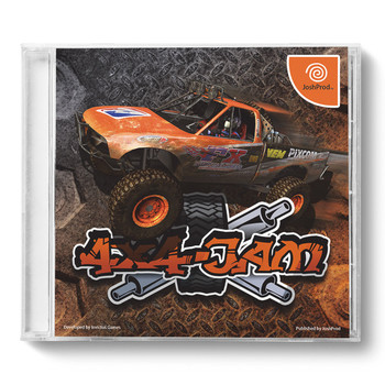 4x4 Jam [USA VERSION]  [Independent Dreamcast Game]