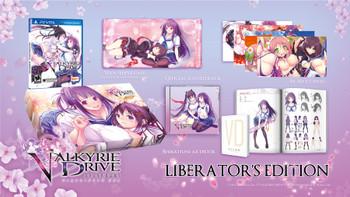 Valkyrie Drive: Bhikkhuni Liberator's Edition - US Version - PlayStation Vita