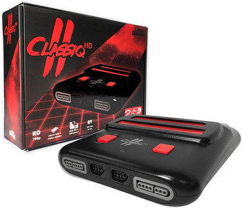 CLASSIQ 2 HD - BLACK/RED