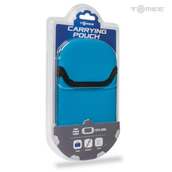 Carrying Pouch for PS Vita 2000 [Blue/Black]