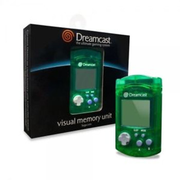 Sega Dreamcast VMU Virtual Memory Unit [GREEN]