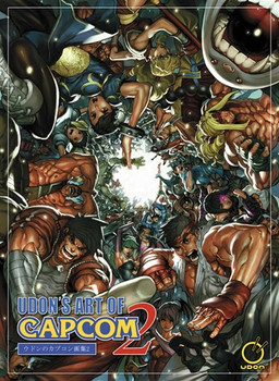 UDON'S ART OF CAPCOM VOLUME TWO LIMITED HARDCOVER