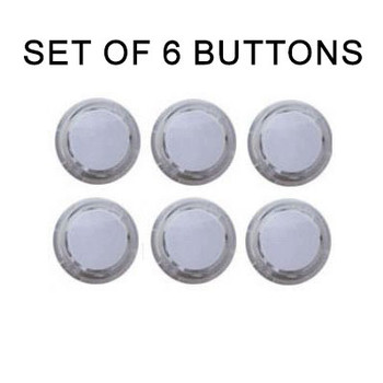 Seimitsu 6pcs PS-14-K Snap-In Buttons