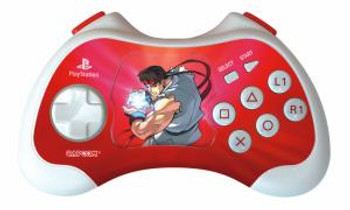 "PS2 ""Ryu "" Street Fighter Anniversary Edition Controller"