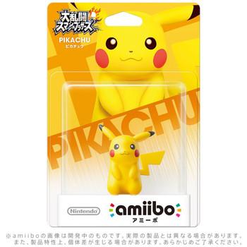 Pikachu Amiibo jp