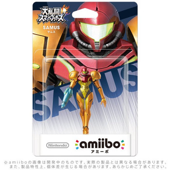 Samus Amiibo jp