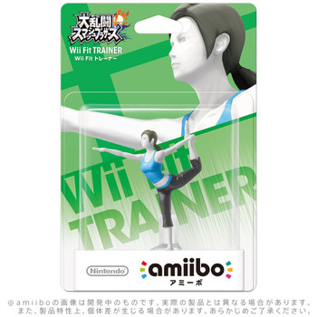 Wii Fit Trainer Amiibo jp