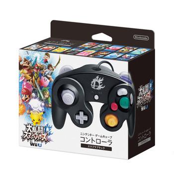 Nintendo Super Smash Bros. Black Gamecube Controller
