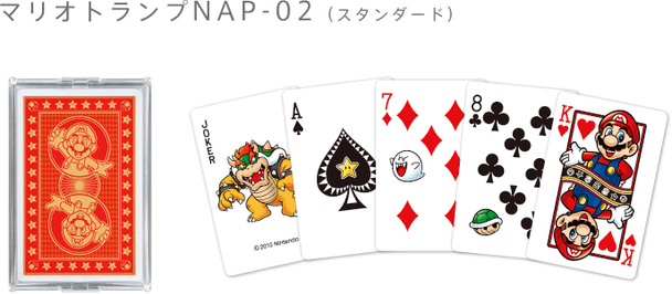 "Nintendo Japan ""Mario CARTOON"" Playing Card Set (POKER CARDS) NAP-02"