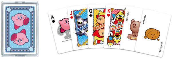 "Nintendo Japan ""Kirby Trump BLUE"" Playing Card Set (POKER CARDS)"