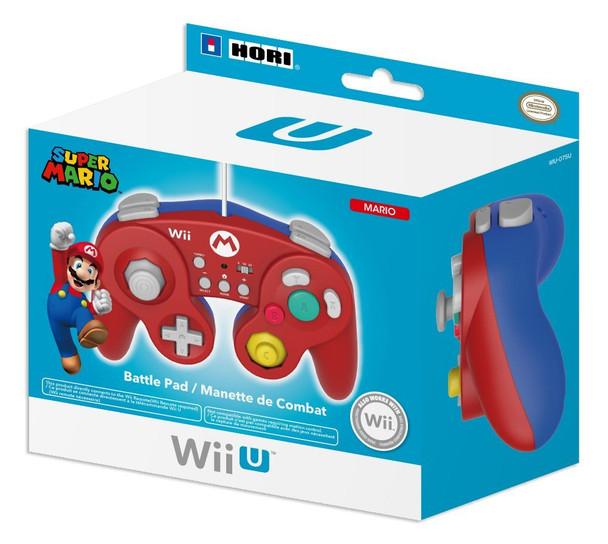 HORI Battle Pad for Wii U - Mario Version