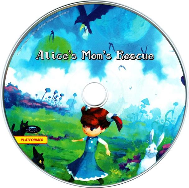 Alice's Mom's Rescue CD Artwork