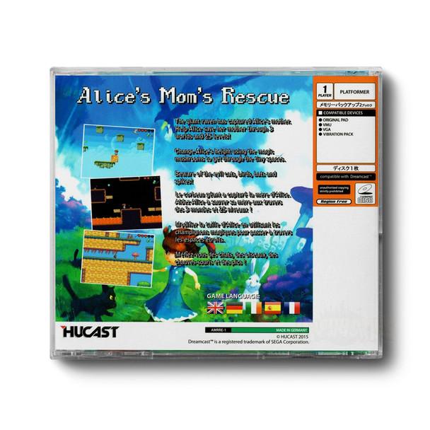 Alice's Mom's Rescue Back Cover