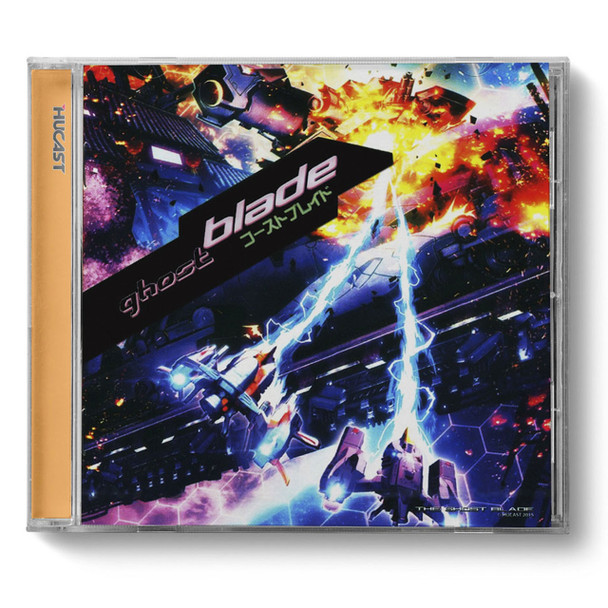 Dreamcast GHOST BLADE Front LARGE