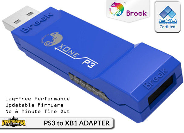PS3 to XboxOne Controller Converter/Adapter X1-BL [BROOK]