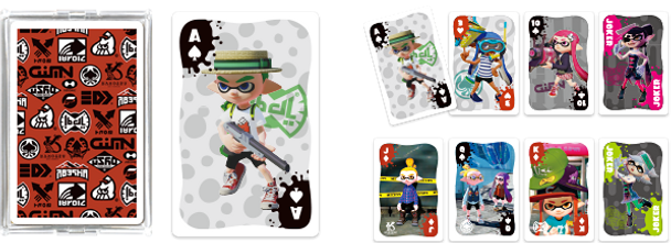 Splatoon Trump 02 [FASHION] Playing Card Set (POKER CARDS)