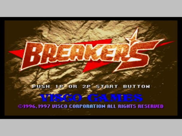 BREAKERS [USA/JP VERSION]  [Independent Dreamcast Game]
