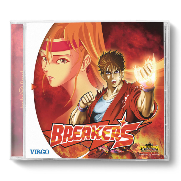 Breakers USA/JAPAN Front A [COVER IS REVERSIBLE TO B]