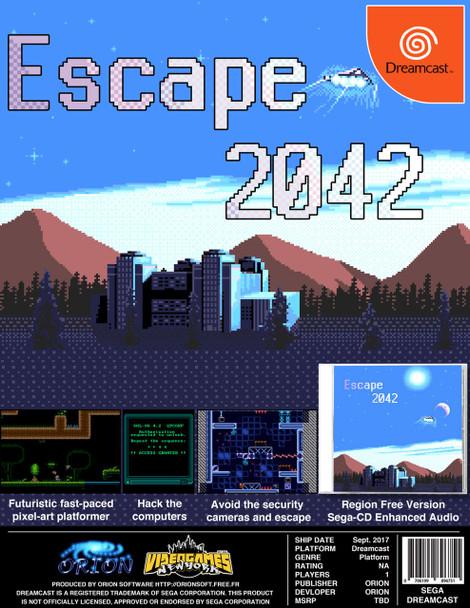 Escape 2042 [USA VERSION] [Independent Dreamcast Game]