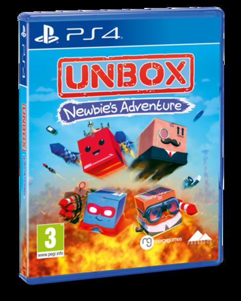 UNBOX: NEWBIE'S ADVENTURE - STANDARD EDITION (PS4)
