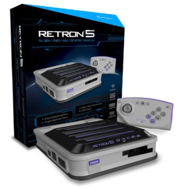 RetroN 5 Gaming Console (Gray)