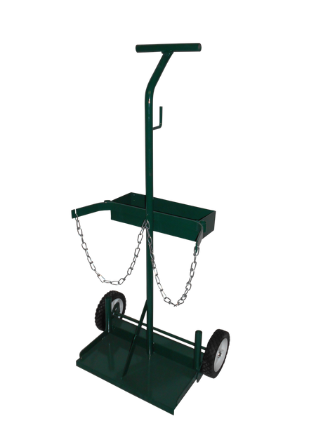 Radnor® Model 108-24 Cylinder Cart With Semi Pneumatic Wheels