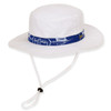GUY HARVEY HAT W/ SAILFISH EMB & RIBBON TRIM - Brim 2.75""