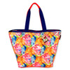 "TROPICAL LEAVES SHOULDER TOTE | 23.5""x 9.5""x 15"""
