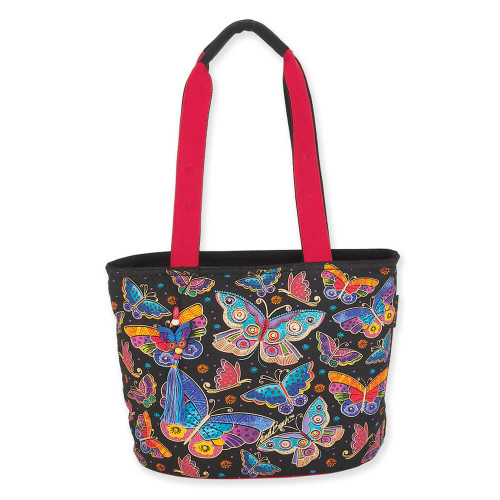 "Butterflies Medium Tote | 15""x 10""x 6"""