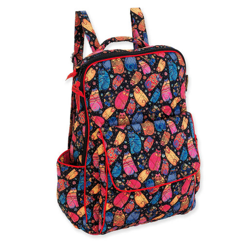 "Multi Feline Backpack | 15.75""x 11.75""x 5.75"""