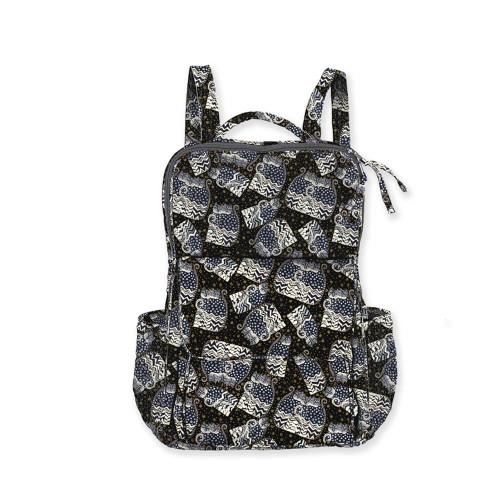 "Polka Dot Cats Backpack | 15.75""x 11.75""x 5.75"""