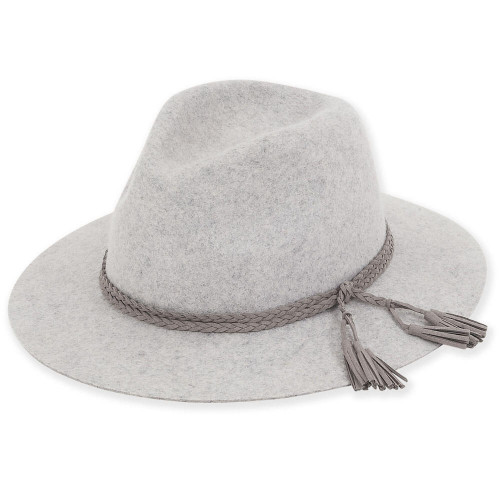 Amber Wool Felt Safari | Grey
