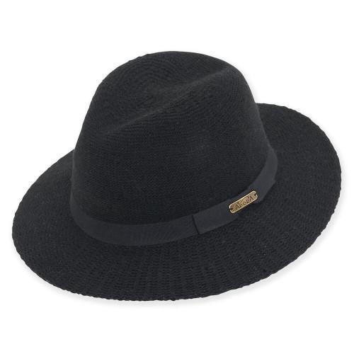 Anise Wool Felt Safari   Black