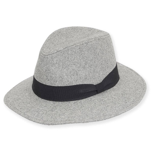 Tabitha Wool Felt Safari | Grey